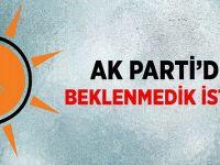 AKP'yi sarsan istifa kararı! Genel merkez ikna edemedi