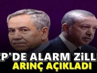 Bülent Arınç, AKP'nin oy oranını açıkladı! Alarm Zilleri Çalıyor