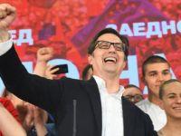 Kuzey Makedonya Yeni Cumhurbaşkanı Stevo Pendarovski