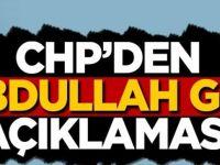 CHP'den Abdullah Gül- Kılıçdaroğlu görüştü iddiasına flaş yanıt!