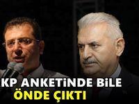 AKP'nin İstanbul seçim anketinden Ekrem İmamoğlu çıktı