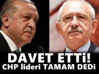 Erdoğan'dan Kılıçdaroğlu'na davet!