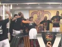 GS TV'de canlı yayına şampiyonluk baskını