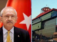 TRT'den Kılıçdaroğlu'nun sözlerine Cevap