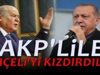 Bahçeli Erdoğan'a rahatsızlığını iletti