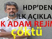 HDP'den ilk açıklama geldi