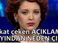 Nagehan Alçı'dan 'yayını terk etme' açıklaması