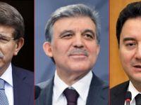 Gül, Babacan ve Davutoğlu'na zor soru: Mutlu musunuz?