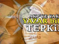 AKP'ye yakın yazardan 'maaş' tepkisi