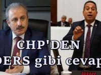 'Vekiller geçinemiyor' diyen Şentop'a CHP'den yanıt