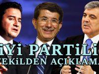 İyi Parti'den Şaşırtan Davutoğlu ve Gül mesajı