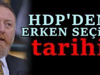 HDP'li Sezai Temelli'den erken seçim açıklaması: