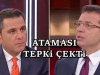 Fatih Portakal İmamoğlu'na o atamayı sordu