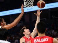 A Milli Erkek Basketbol Takımı Hazırlık Maçında Ürdün'ü Farklı Yendi