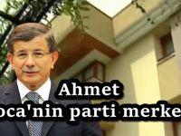 Ahmet Davutoğlu'nun yeni parti binası ortaya çıktı