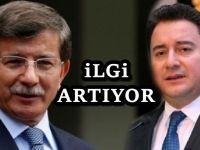 AKP'den Davutoğlu'na katılım hızlandı