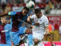 Trabzonspor, Süper Lig'e 1 Puanla Başladı