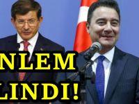 AKP'de Davutoğlu ve Babacan İçin düğmeye basıldı