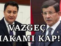 AKP'de istifaları durdurma hamlesi: