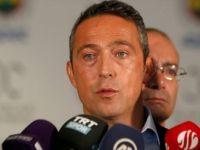 Fenerbahçe Kulübü Başkanı Ali Koç PFDK'ye Sevk Edildi