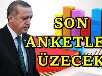 AKP ve Erdoğan'ın oylarında ciddi düşüş