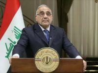 Irak Başbakanı Abdulmehdi'den Yeniden İmara Destek Çağrısı