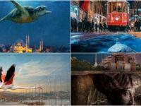 İstanbul'un Simgelerini Gerçeküstü Tasarımlarla Anlatıyor
