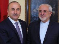 Bakan Çavuşoğlu İran Dışişleri Bakanı Zarif'le Görüştü