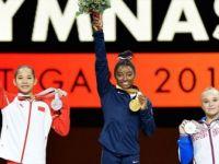 ABD'li Simone Biles'ten Büyük Başarı