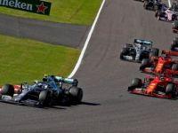 Japonya Grand Prix'sini Kazanan Valtteri Bottas