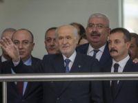 Devlet Bahçeli MHP Genel Merkezi'ndeki Mesaisine Başladı