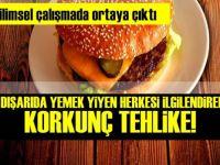 Uzmanından Uyarı var Dışarıda yemek yiyorsanız tehlike büyük