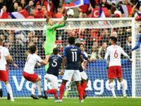 Türkiye, Fransa ile Deplasmanda 1-1 Berabere Kaldı