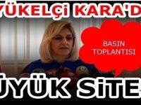 T.C Üsküp Büyükelçisi Tülin Erkal Kara'dan Barış Pınarı bilgilendirmesi