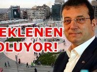 Ekrem İmamoğlu Taksim Meydanı için tarih verdi