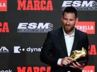 Altın Ayakkabı Ödülü 6. Kez Messi'nin