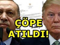 Erdoğan'dan Trump'a flaş mektup cevabı!