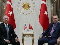 Erdoğan, ABD Başkan Yardımcısı Pence'i Kabul Etti