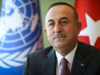 Bakan Çavuşoğlu İranlı Mevkidaşı Zarif İle Telefonda Görüştü