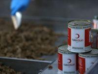 Türk Kızılaydan Yemen'deki İç Göçmenlere Gıda Yardımı