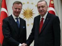 Erdoğan Finlandiya'nın Ankara Büyükelçisi Maki'yi Kabul Etti