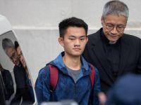 Hong Kong'daki Protestolara Sebep Olan Sanık Serbest Bırakıldı