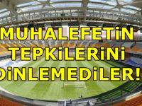AKP harekete geçti! Başakşehir Fatih Terim Stadyumu...