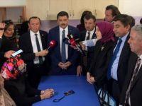 TBMM Araştırma Komisyonu Aksaray'da Mehmetçik İlkokulunu Ziyaret Etti