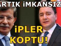 Davutoğlu, Ali Babacan'ın o talebini reddetti