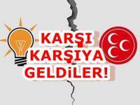 AKP ve MHP arasında kriz!