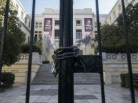 Yunanistan'da Öğrenciler Üniversiteleri İşgal Eylemi Başlattı
