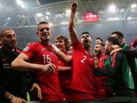 A Milli Futbol Takımı Grup Liderliği İçin Sahada
