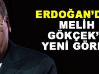 Erdoğan'dan Melih Gökçek'e yeni görev
