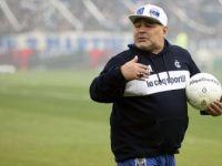 Efsane Futbolcu Maradona Gimnasia'dan İstifa Etti
